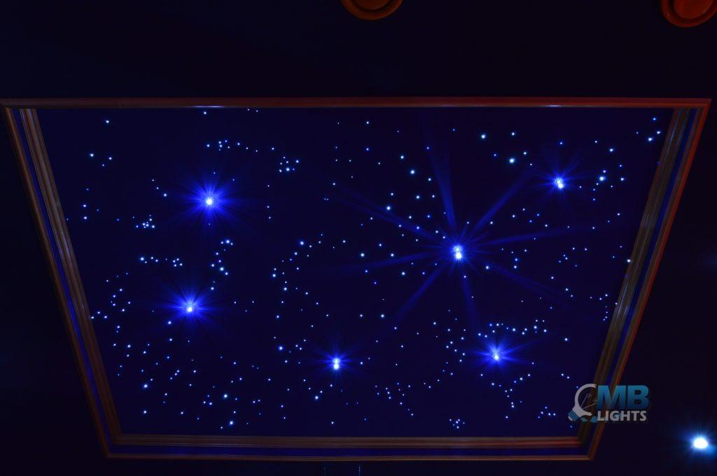 Montáž hviezdneho neba 2