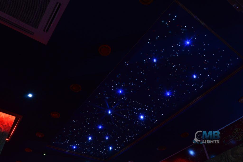 Montáž hviezdneho neba 3