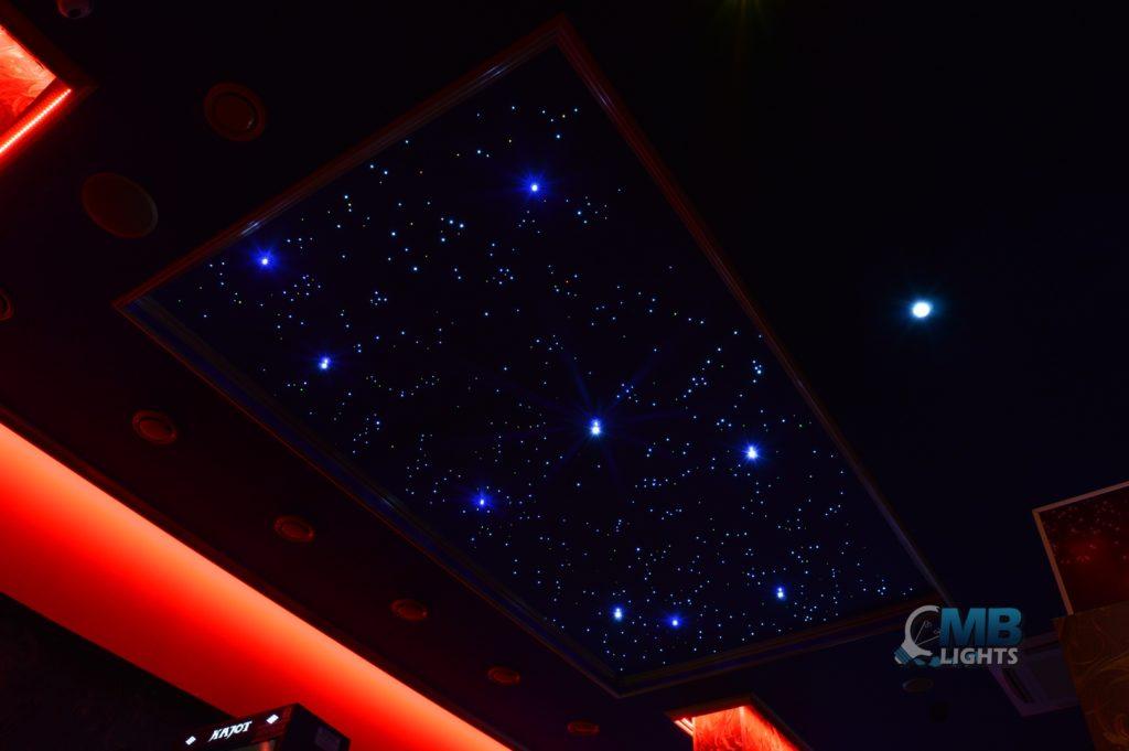 Montáž hviezdneho neba 7