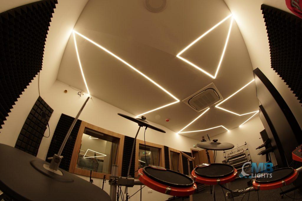 Osvetlenie nahrávacieho študia 1 MB-Lights