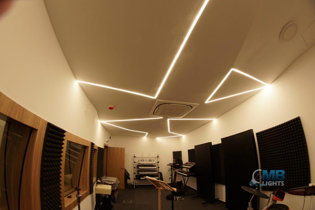 Osvetlenie nahrávacieho študia 2 MB-Lights