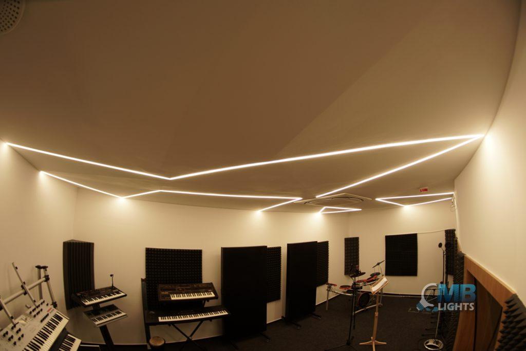 Osvetlenie nahrávacieho študia 3 MB-Lights