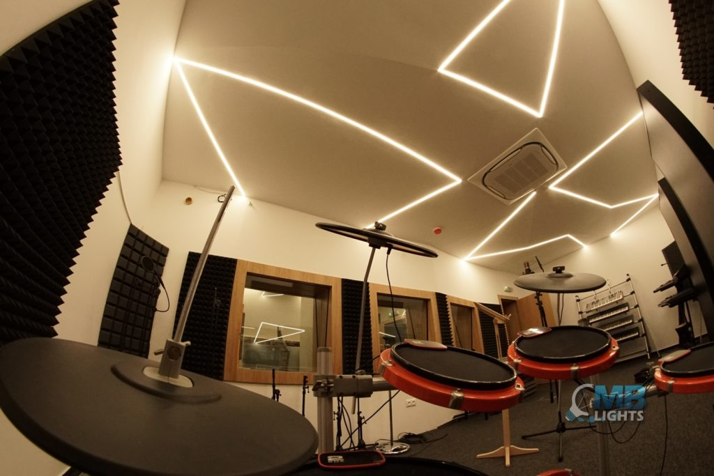 Osvetlenie nahrávacieho študia 4 MB-Lights
